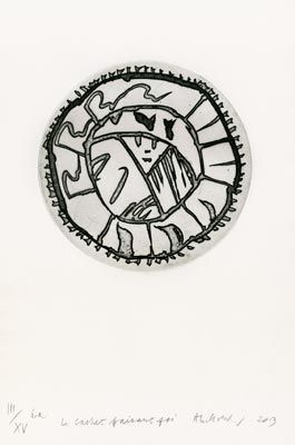 Engraving Alechinsky - Le Cachet faisant foi
