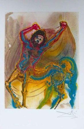 Lithograph Dali - Le Centaure De Crète