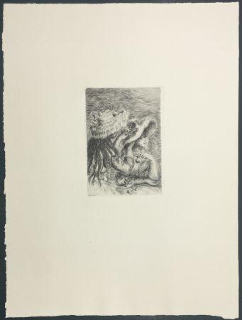 Etching Renoir - Le Chapeau Épinglé