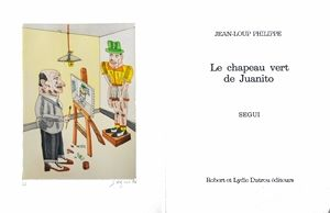 Illustrated Book Segui - Le chapeau vert de Juanito