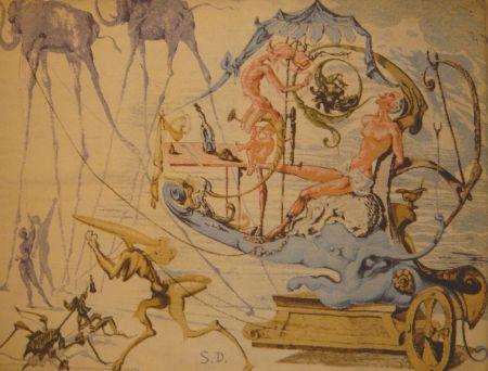 Multiple Dali - Le char de Bacchus