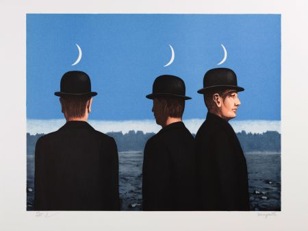 Lithograph Magritte - Le Chef d'Oeuvre ou les Mystères de l'Horizon (The Masterpiece or the Mysteries of the Horizon)