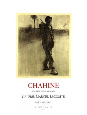 Lithograph Chahine - Le Chemineau