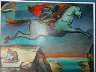 No Technical Sarno - Le cheval de Dario