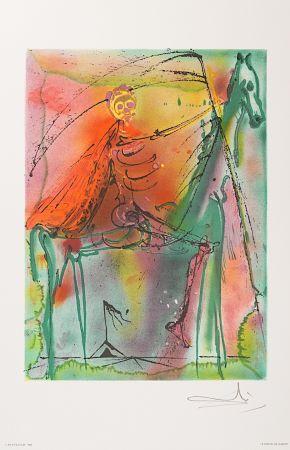 Lithograph Dali - Le Cheval de la Mort (Horse of Death)
