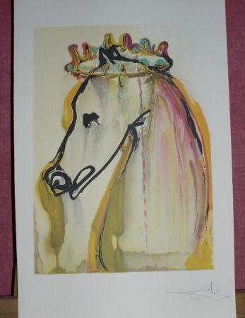 Lithograph Dali - Le cheval de printemps