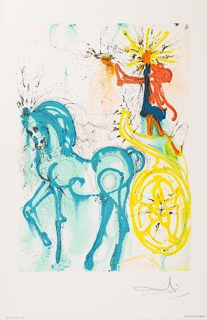 Lithograph Dali - Le Cheval de Triomphe (Horse of Triumph)