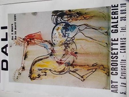 Poster Dali - Le chevalier chrétien