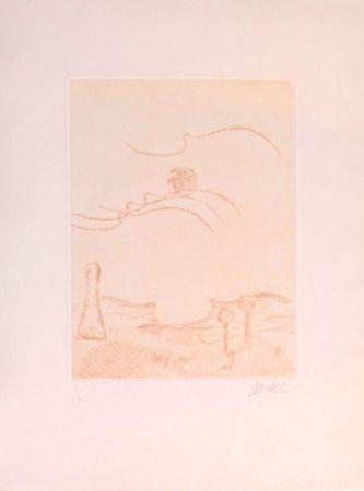 Etching Arman - Le ciel et son fantome