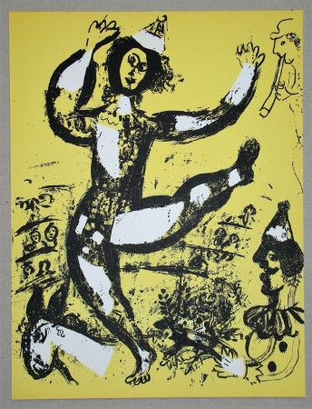Lithograph Chagall - Le Cirque