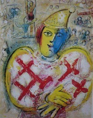 Lithograph Chagall - Le Cirque, planche  10