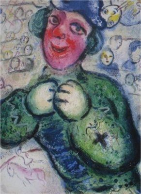 Lithograph Chagall - Le Cirque, planche 16