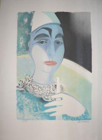Lithograph Hilaire - Le clown