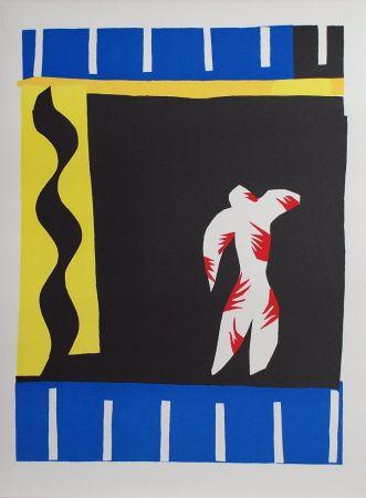 Collograph Matisse - Le Clown (The Clown)