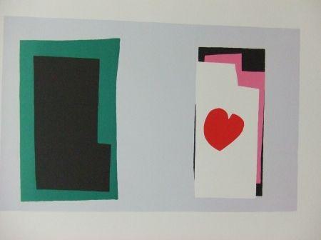 Lithograph Matisse - Le coeur