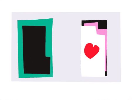 Lithograph Matisse - Le Coeur (The Heart)