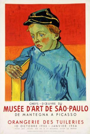 Lithograph Van Gogh - Le Colegien, Musée D'Art de Sao Paulo