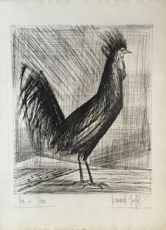 Drypoint Buffet - Le Coq (The Rooster)
