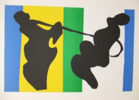 Lithograph Matisse - Le Cow-boy