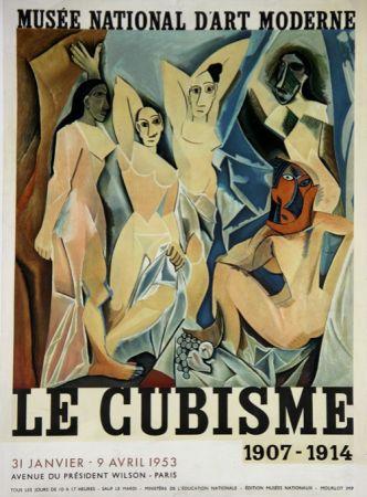 Lithograph Picasso - Le Cubisme  , D'apres Les Demoiselles D'Avignon