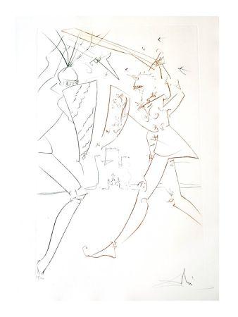 Lithograph Dali - Le Détroit de Gadelore