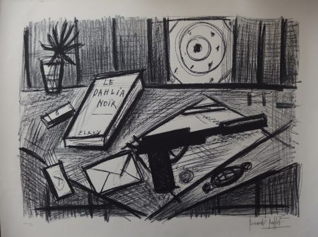 Lithograph Buffet - Le Dahlia Noir