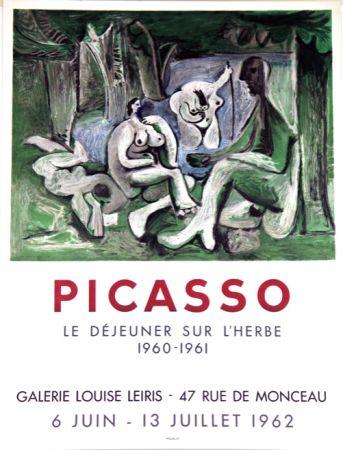 Lithograph Picasso - Le Dejeuner Sur L'herbe  Galerie Louise Lieris