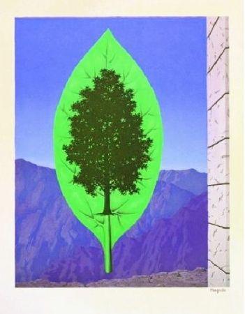 Lithograph Magritte - Le dernier cri, 1967