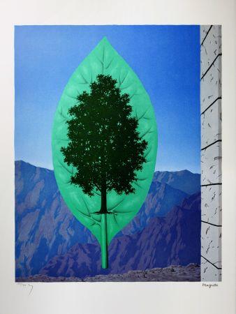 Lithograph Magritte -  Le Dernier Cri (The Last Word)