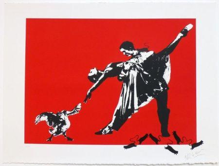 Screenprint Blek Le Rat - Le Dernier Tango à Paris