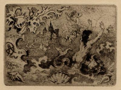 Illustrated Book Buhot - Le diable amoureux