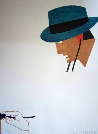 Lithograph Arroyo - Le docteur