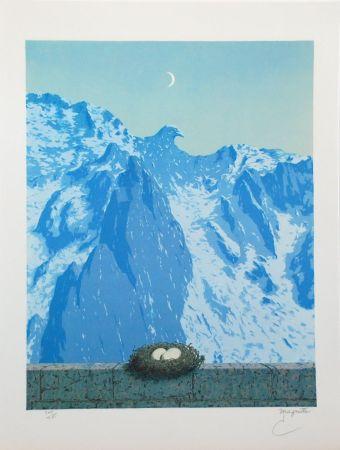 Lithograph Magritte - Le Domaine d'Arnheim