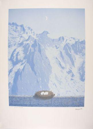 Lithograph Magritte - Le Domaine d'Arnheim - The Arnheim Field