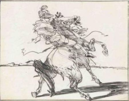 Etching Weisbuch - Le Dragon