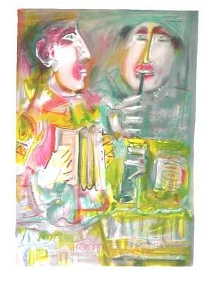Lithograph Mentor - Le duo musical