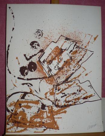Lithograph Arman - Le fer à repasser
