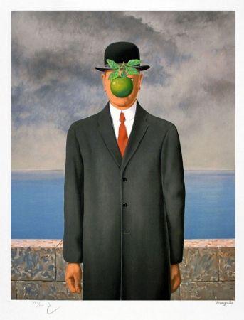 Lithograph Magritte - Le fils de l'homme