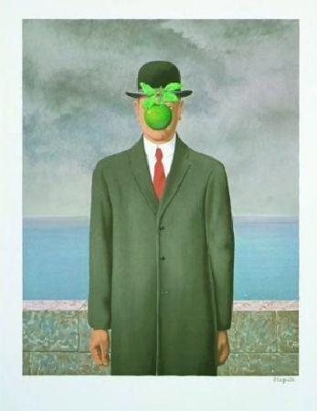 Lithograph Magritte - Le fils de l'homme, 1964