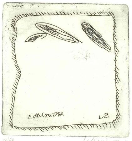 Illustrated Book Sinisgalli - Le finestre di via Rubens