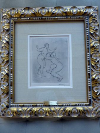 Etching Renoir - Le Fleuve Scamandre