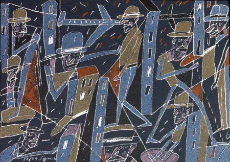 Lithograph Segui - Le froid bleu des contre nuits 4