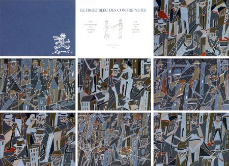 Lithograph Segui - Le froid bleu des contre nuits 7