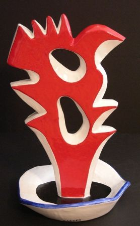 Ceramic Leger - Le Grand Coq (The Large Rooster)