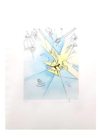 Lithograph Dali - Le Grand Inquisiteur Expulse le Sauveur