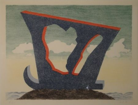 Lithograph Oppenheim - Le grand liparide, Silberschwanz.