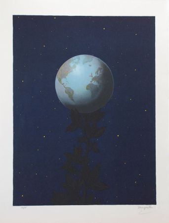 Lithograph Magritte - Le Grand Style