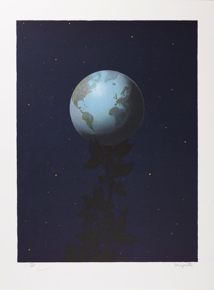 Lithograph Magritte - Le Grand Style (The Great Style)