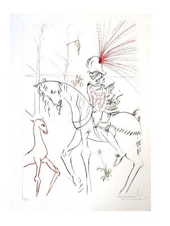 Lithograph Dali - Le Gué du Sang