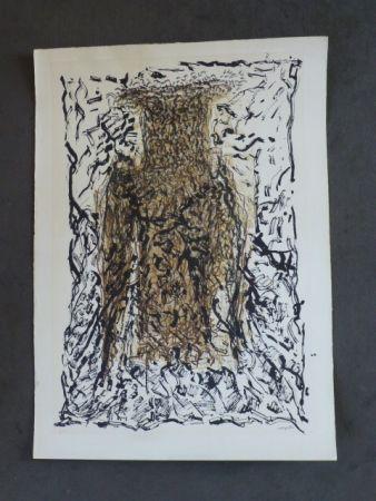 Lithograph Riopelle - Le hibou VII
